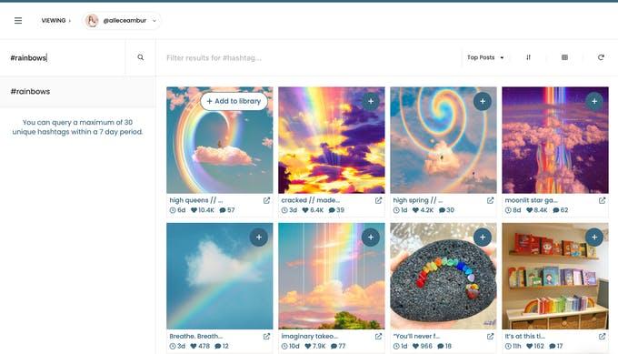 encuentra UGC con pallyy para programar en instagran