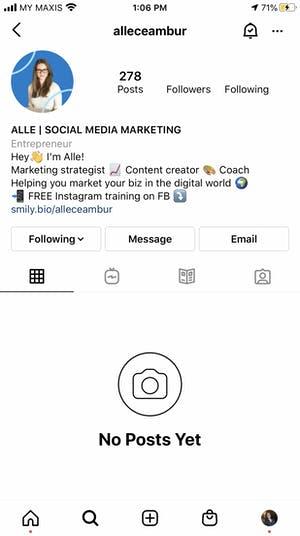Recuperar cuenta de instagram deshabilitada