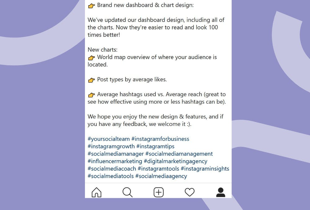 Asegúrate de usar 30 hashtags en instagram