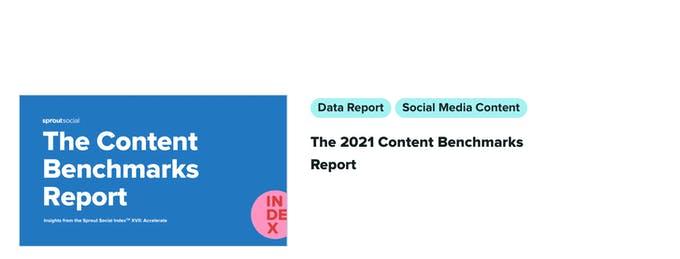 Lea blogs de redes sociales para inspirarse en el contenido.