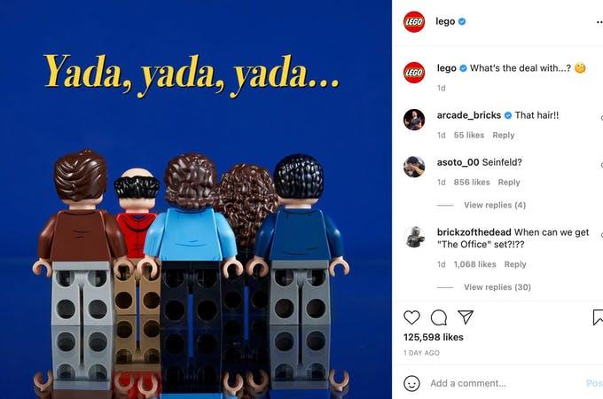 Lego se burla de nuevos productos al permitir que la gente adivine de qué se trata